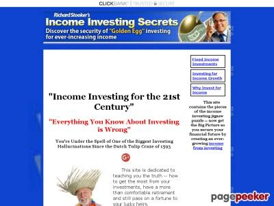 [click]income Investing Secrets Systems - Franchise-Philippines Com.